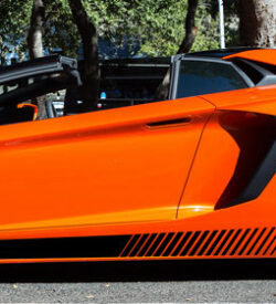 Lamborghini aventador side graphics 417 LP 700, 720, 750, Coupe, Roadster, SV