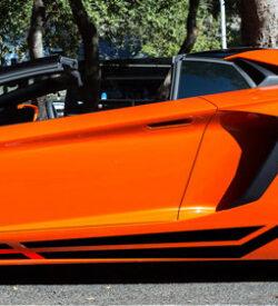 Lamborghini aventador side graphics 419 LP 700, 720, 750, Coupe, Roadster, SV