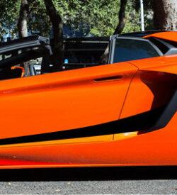 Lamborghini aventador side graphics 420 LP 700, 720, 750, Coupe, Roadster, SV