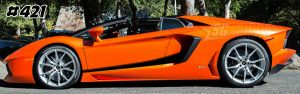 Lamborghini aventador side graphics 421 LP 700, 720, 750, Coupe, Roadster, SV