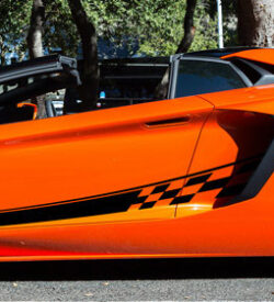 Lamborghini aventador side graphics 422 LP 700, 720, 750, Coupe, Roadster, SV