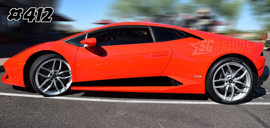 Lamborghini Huracan LP 610 LP 580 side graphics 412