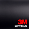 matte black car wrap 3m 1080 series vinyl