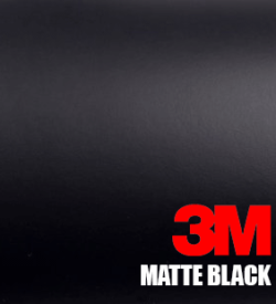 matte black car wrap 3m 1080 series vinyl
