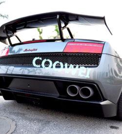 Lambo gallardo rear sp wing
