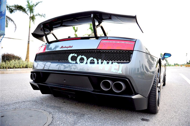Gallardo Lp550 Lp560 Lp570 Carbon Fiber Rear Gt Wing For