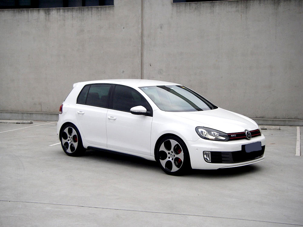 unpainted gti style high pp material mk6 gti car bodykits. Black Bedroom Furniture Sets. Home Design Ideas