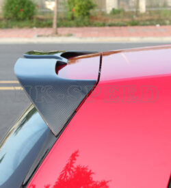 GTI Carbon Fiber rear spoiler