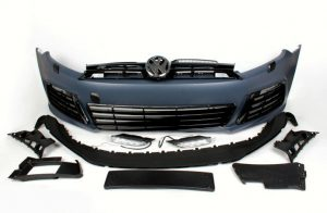 FRONT BUMPER PCS GOLF R BODY KIT 2010 - 2014