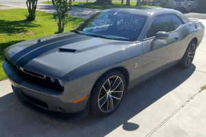 Challenger dual Racing stripes kit 1