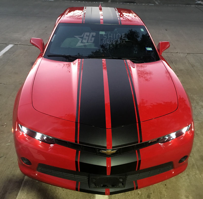 Camaro Racing Stripes ZL1 Rally