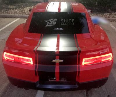 Camaro Racing Stripes ZL1 Rally rear