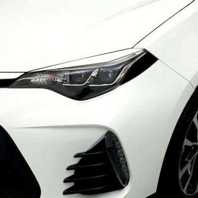 2017 Corolla Eyelids for Headlights