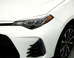 2017 Corolla Eyelids for Headlights side no insert