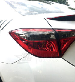 light black tint taillight overlay