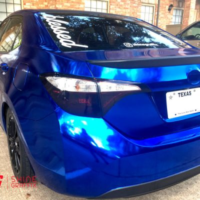 Corolla Tail light tint precut black 2017 2016 2015 2014