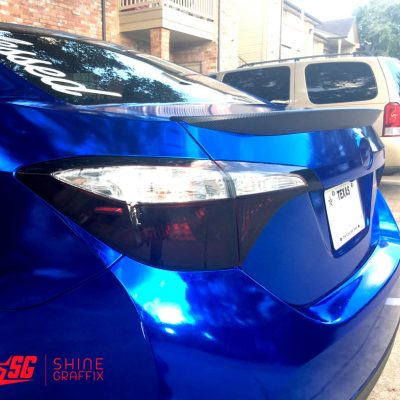 "Toyota Corolla S 2014-2016 17"" wheels Decal 