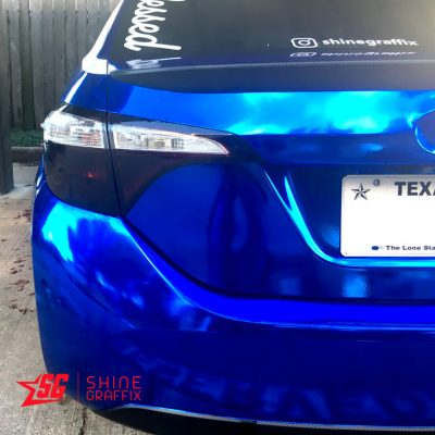 2015 Corolla Tail light tint precut black