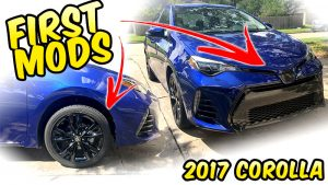 2017 Corolla SE Wheel Decals mods