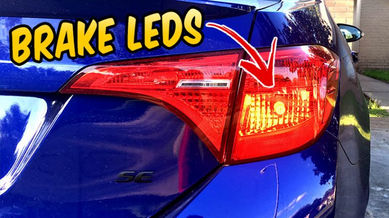BRAKE light LED 7443 - JDM LITE Extremely Bright 1300 Lumens - 2017 corolla Toyota SE