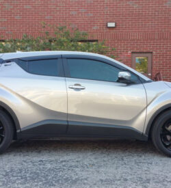 2018 Toyota C-HR wheel decals kit side