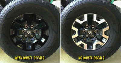 2018 toyota tacoma off road wheel decals