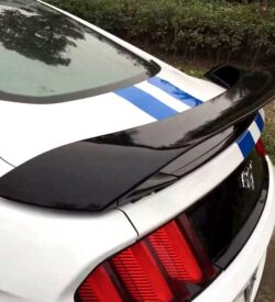 2017 mustang gt350 GT wing spoiler 2015 2016 side view