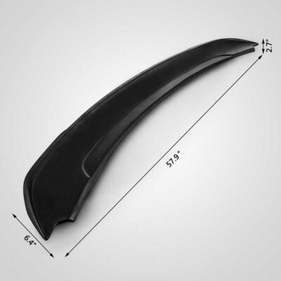 Mustang GT Rear TRACK Spoiler Wing 2015 2016 2017 size
