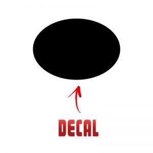 2018 corolla front logo decal inlay Sample