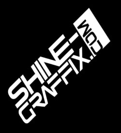 Shine Graffix decal logo website