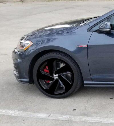 "2018 VW GTI MK7.5 WHEELS DECALS for 18"" wheels"