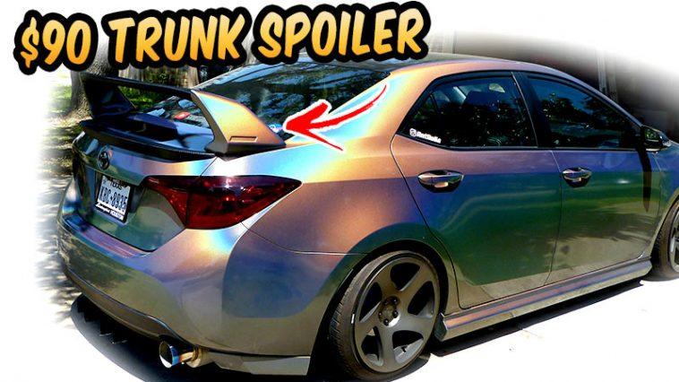 $90 Ebay trunk Spoiler 2017 -2019 Corolla SE