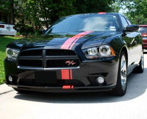 """universal rally stripe 6"""" wide charger"""