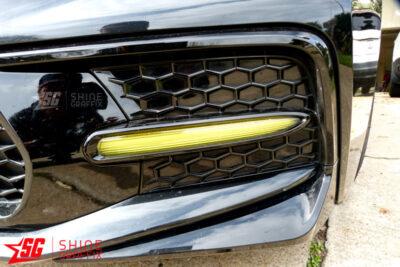 2020 Corolla SE XSE DRL tint overlays left side