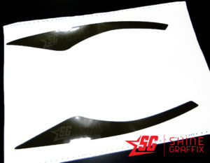 2020 Toyota Corolla Headlights Amber delete Decals tint sample